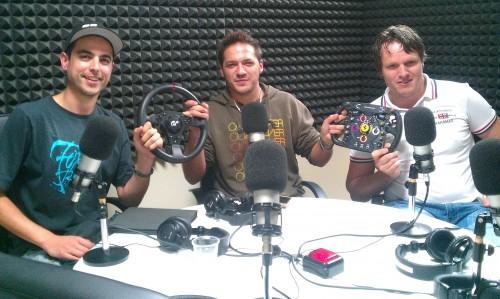 Darwin Fernández, Alex Riesco y José González