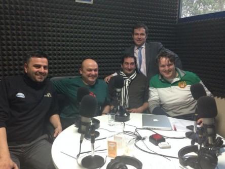 De dcha a izda: Miguel, Ramón, Julio, José y Alberto